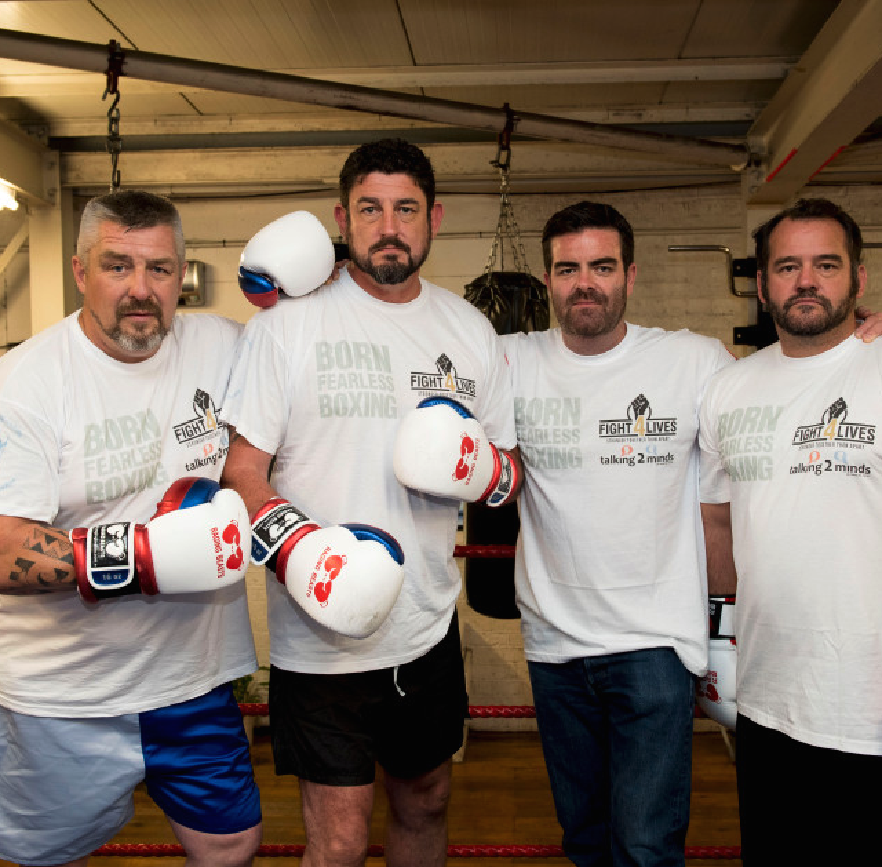 charity boxing ex-sas